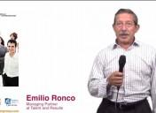 """""""Para lograr un equipo de alto rendimiento hay que perder el miedo"""" Emilio Ronco"""