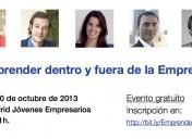 Emprender dentro y fuera de la empresa, el 10 de octubre en Madrid